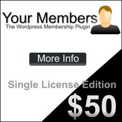 Your Members Wordpress Membership Plugin